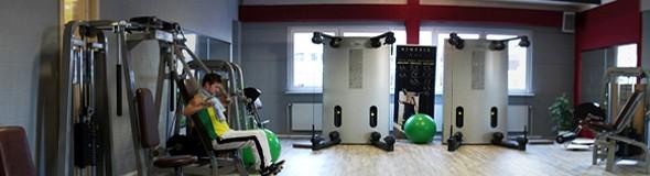 Das Training im Trainingsraum Colummna